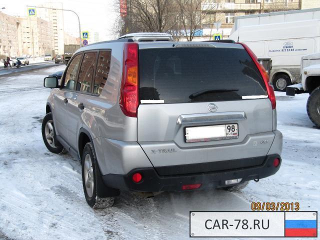 Санкт-Петербург. X-Trail. Внедорожник. Nissan. защита картера