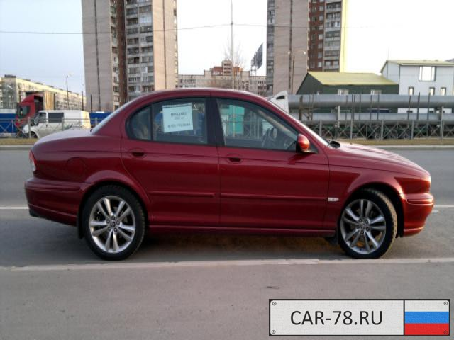 Jaguar X-TYPE Санкт-Петербург
