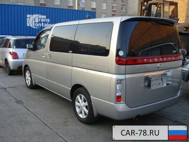 Nissan Elgrand Санкт-Петербург