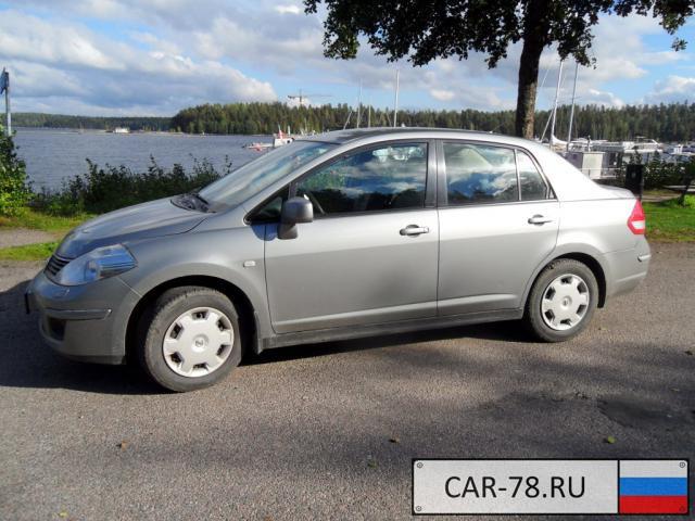 Nissan Tiida Ленинградская область