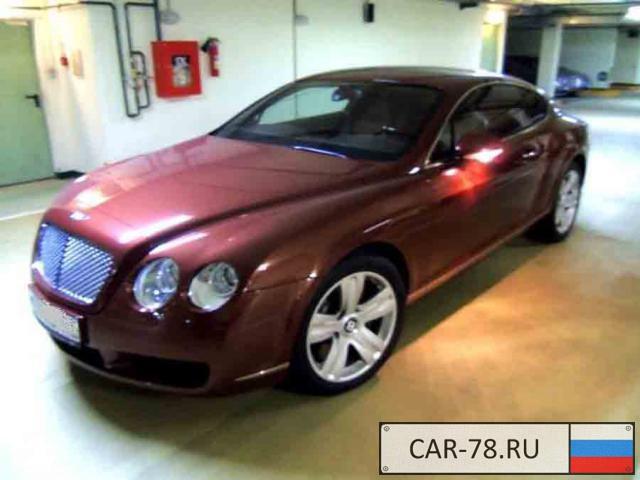 Bentley Continental GT Москва