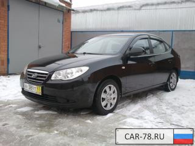 Hyundai Elantra Красноярский край