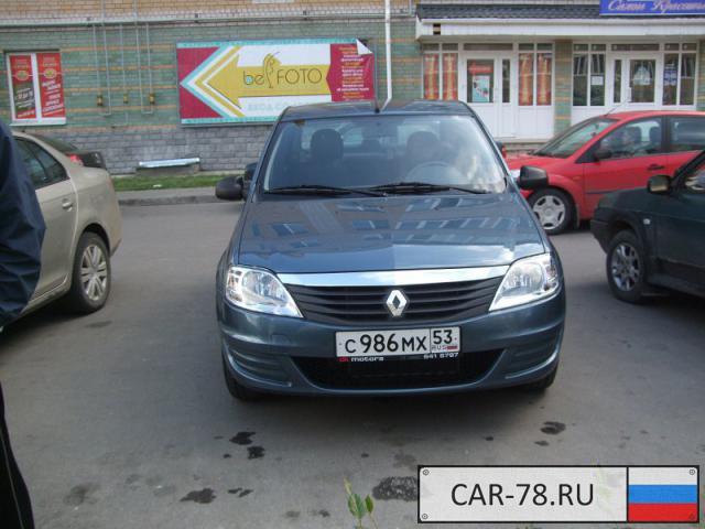 Renault Logan Новгородская область