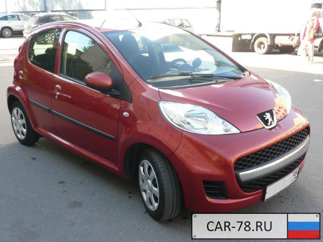 Peugeot 107 Санкт-Петербург