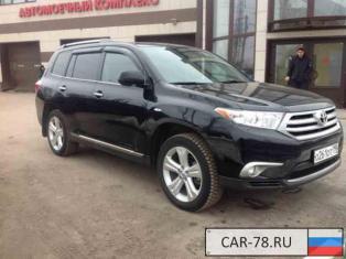 Toyota Highlander Московская область