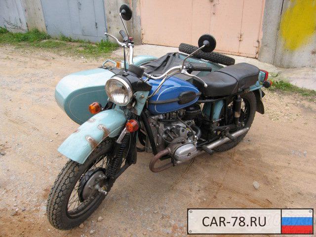 Продажа УРАЛ 8.103-10, 1991 - характеристики мото