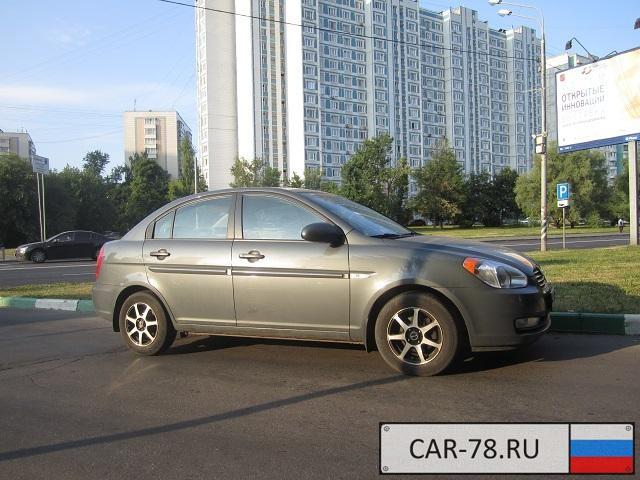 Hyundai Verna Москва